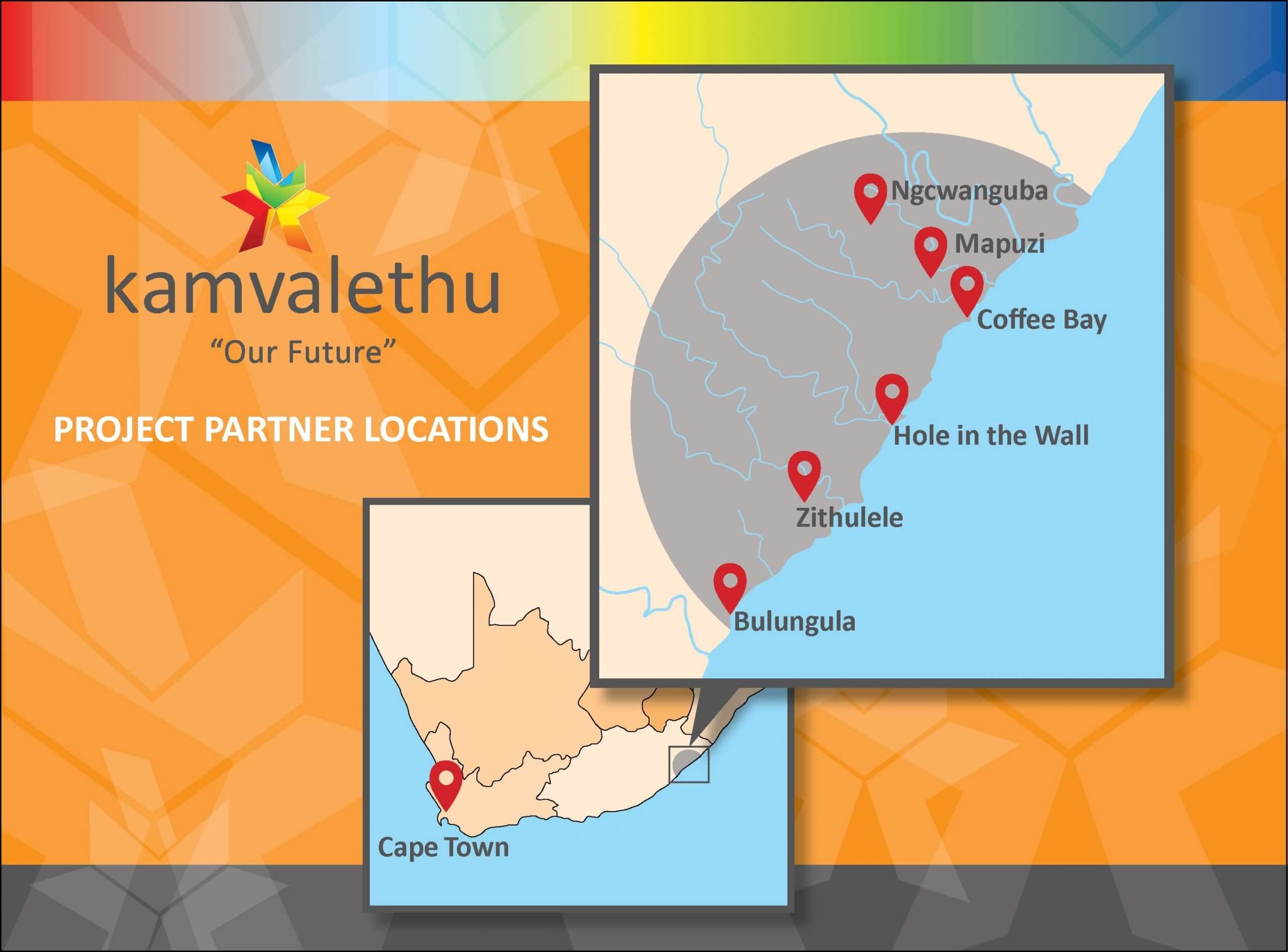 Project Partner Locations